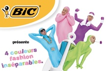Saga Bic 4 couleurs / Qui n'a jamais essayé de sortir 2 couleurs de son BIC 4 couleurs ? https://www.facebook.com/Bic4CouleursFrance