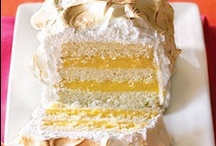 Cakes - Citrus Cakes / by Mary Dery