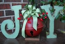 We are Santas elves....decorations / decorations for the house during the holidays / by Debi