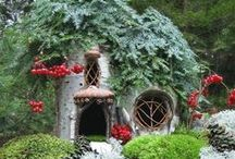 Fantasy Homes & Wee Folk  / garden and fantasy homes for Fairy Gnomes and more