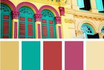 * Color Schemes * / Color schemes, palettes, and swatches