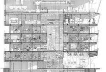 Architectural Presentation,Esquisse,Sketches