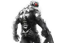Concept art - Cyborg,Tactical Gear,Powered Suit,etc