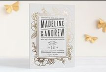 Wedding & Shower: Fonts, Templates & Invites / Save the Date/Engagement, Shower and Wedding invites / by Terra Cole