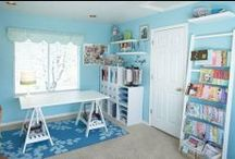 Organization ideas / Ideas for organizing and beautifying my sewing room and the rest of my home. / by Pamela Boatright