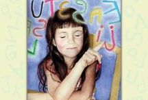 For Kids / Information about dyslexia, reading challenges, writing and learning written for kids.