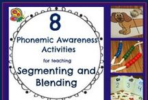 Phonological Awareness / Resources and activities for phonological awareness instruction, remediation and enrichment/maintenance for working with ALL ages.