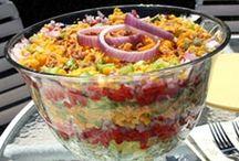 Salads / by Mary Ricciuto