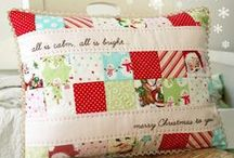 Pillows / I love pillows, especially quilted ones! / by Pamela Boatright