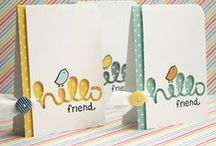 Card Creations / Inspiring, fun and unique diy greeting cards. / by Craft Warehouse