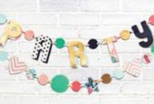 Party Principles / DIY crafty party decor!