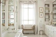 INTERIORS: BATHROOMS / by Ana Damaris - White Linen Interiors LLC