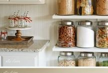 Organize my Life / Office Space Kitchen Storage cool Ideas / by Samantha Speer ~Sweet Jeanie Cakes ~
