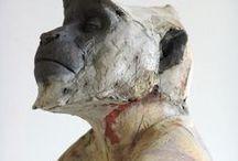 Inspiration: sculptural forms