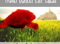 Travel Bucket List Ideas / This board is home to iconic, must see in your lifetime travel destinations.  These are places and experiences that are worth a significant detour or even planning a whole trip around.  These unique travel destinations are sure not to disappoint!    For more once in a lifetime travel experiences, check out my travel blog at http://www.thereandbackagaintravel.com