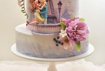 Cakes: Celebration /  Custom birthday cakes, cupcakes, / by Samantha Speer ~Sweet Jeanie Cakes ~