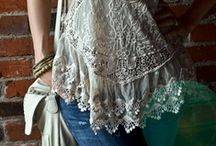 Amazing lace.... / my favorite lace clothing  / by Tina Rose