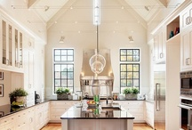 Kitchens, Kitchens & More Kitchens / Luxurious Kitchens - Designs, Tips, and Pictures - sometimes we get hungry and have to throw in a good meal or a snack. What's cooking in your kitchen?