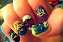 Biznatching Nails  / Different ideas of things to do to my nails. / by Kristine Peay