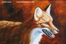 My Animal Art / My animal and wildlife paintings