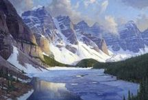 Art - Landscapes / Paintings and drawings of landscapes, seascapes, etc.