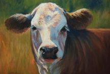 Art - Farm Animals / Paintings and drawings of animals associated with farm life