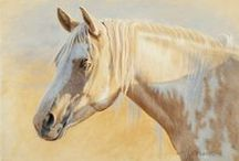 Art - Horses / Paintings and drawings of horses
