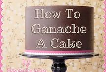Cake Tutorials / Smooth Finish, Ganache straight edges, Support structures  / by Samantha Speer ~Sweet Jeanie Cakes ~