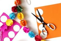 Garlands & Banners / The next time you throw a party, or just want to spice up your decor, make your own garlands!