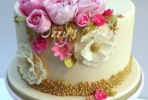 Cakes: Bridal/Birthday/Shower / Small Beautiful Simple Feminine Delicate Sweet / by Samantha Speer ~Sweet Jeanie Cakes ~