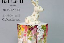 Cakes: Easter~Spring~Floral / Buttercream flowers, Spring cakes, Easter / by Samantha Speer ~Sweet Jeanie Cakes ~