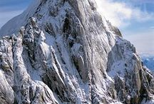 Mountains in Winter / Snow covered mountains / by Keith Young