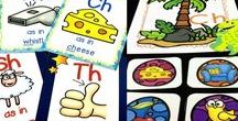 KINDERGARTEN ELA LESSONS / Kindergarten ELA Lessons & Activities | Phonics | Writing | Sight Words | Comprehension | Word Work | Literacy
