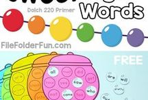 SIGHT WORD LESSONS & ACTIVITIES / sight words | fry's sight words | dolch | printables | flash cards | games | activities | worksheets | centers