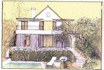 Sketches - Luigi Rosselli Architects / Luigi Rosselli architect concept sketches.