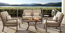 Roma Collection / The finest in outdoor luxury is on display in the CASTELLE ROMA Collection.