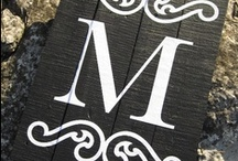 M is for Monograms