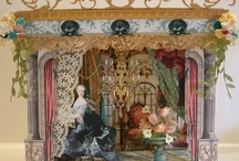 Marie Antoinette Inspired Art / by Laura Carson