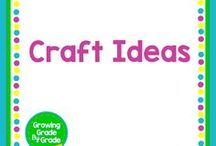 Craft Ideas / Lots of easy and inexpensive craft ideas for the classroom and kids of all ages.
