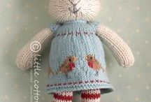 Knitting (and some crochet) / Keeping track of projects I might want to try someday. / by Cynthia Smith