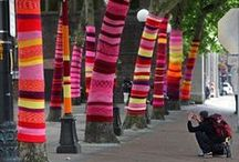 Yarn Bombs!!!