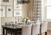 Decor - Dining Rooms / by Lana Johnson