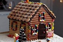Gingerbread House ideas / by Sue Hart-Somerville