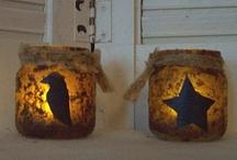 Bottles & Jars Crafts & Stuff / by Felecia Johnson Ozant
