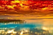Sunsets, Sunrises, and Moonshines / by Edwina Dickert