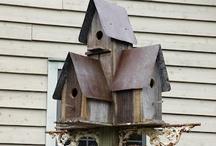 Windchimes, Birdhouses, Birdbaths & Stuff / by Felecia Johnson Ozant