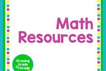 Math Resources / Grades K-8 lessons, printables, worksheets, projects, and games. Children must hold math in their hands before they can hold it in their heads.
