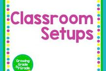 Classroom Set-Ups / Ideas for creating a calm, attractive, well-managed classroom.