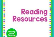 Reading Resources / Grades K-8 lessons, worksheets, printables, and ideas that support reading. Reading is fun-damental.