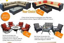August/Sept 2012 Patio Sale - In Store Only / Our end of season patio sale is on! Great savings on furniture and so much more!